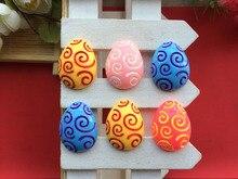 Free shipping flatback resin font b Easter b font font b eggs b font Hair bow