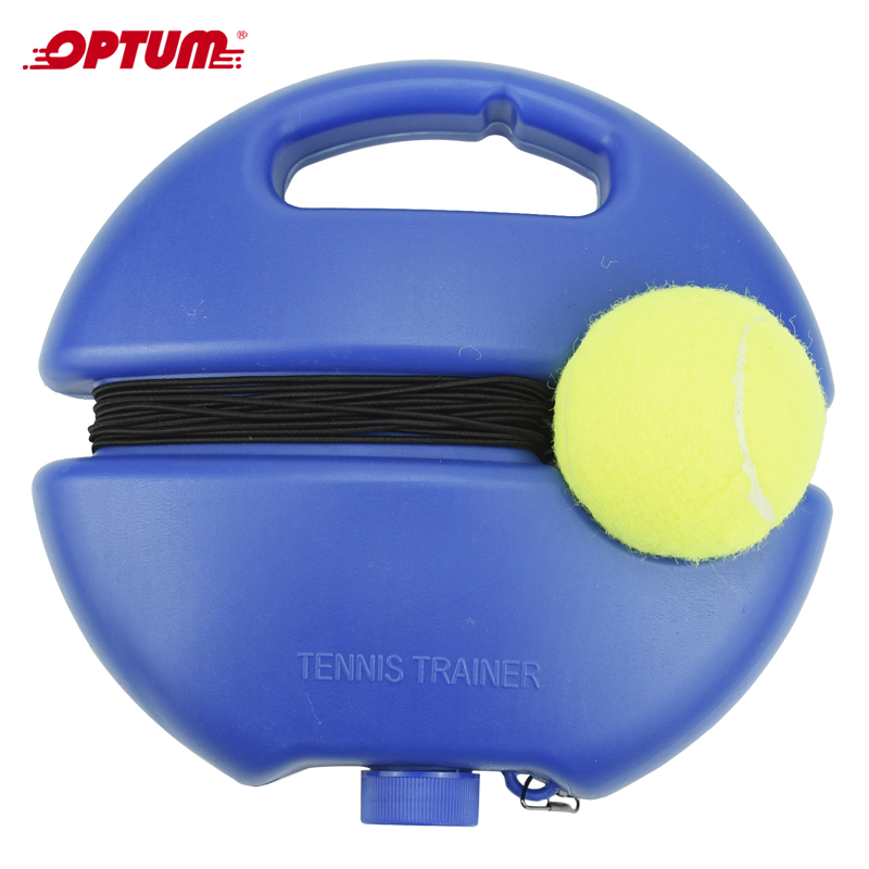 Heavy Duty Tennis Training Tool Exercise Tennis Ball Sport Self-study Rebound Ball With Tennis Trainer Baseboard Sparring Device(China)
