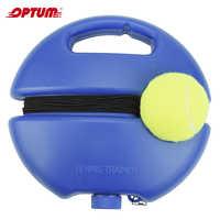 Ciężkie tenisowe przyrząd szkoleniowy ćwiczenia piłka tenisowa Sport samodzielnej nauki odbicia piłki z trenerem tenisowym urządzenie do sparingu