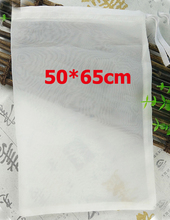 50*65 см 80/100/120/200/400 фильтр мешок ведро пивной мешок Drawstring Brew в мешок для Homebrew вина хмель чай сеточка для напитков