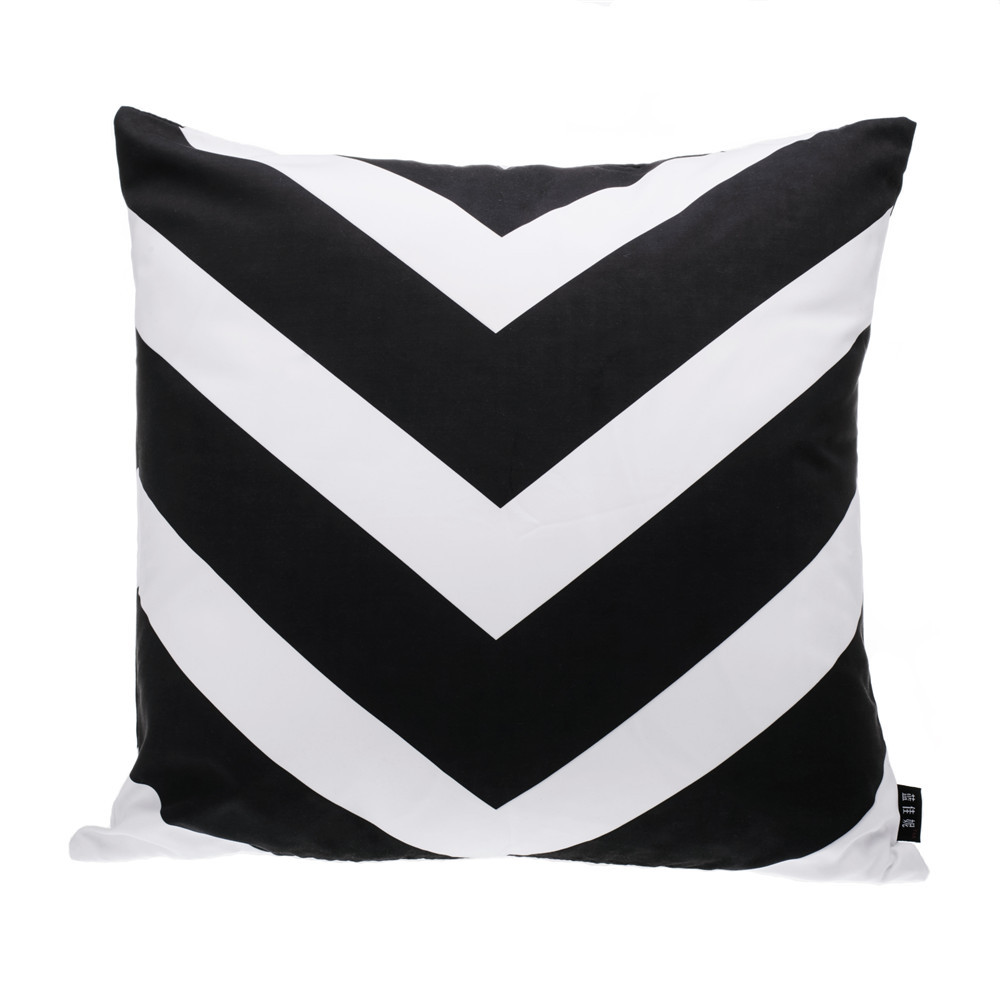 Triangle Cushion Cover,Black And White Cushion Home Decor,Geometric  Decorative Throw Pillows,Modern Seat Chair Couch Pillow Case In Cushion  Cover From Home ...