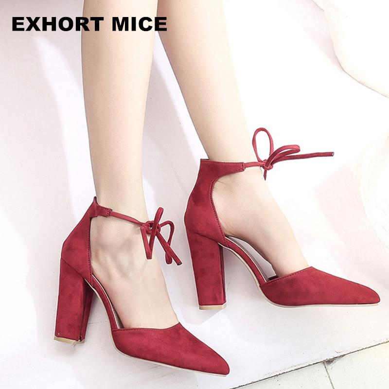 2018 Summer new women shoes basic style retro fashion high heels pointed toe office & career shallow footwear women pumps A08 механизм сливной alca plast a08