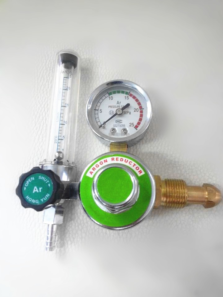 Welding accessories Argon Pressure Regulator for tig welding machines