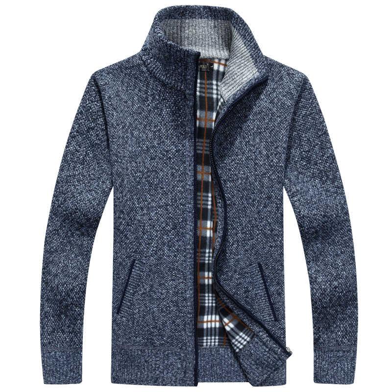 Mu Yuan Yang Новый Повседневный трикотажный свитер осень-зима 2018 мужской кардиган свитера XXL XXXL трикотажная одежда большого размера