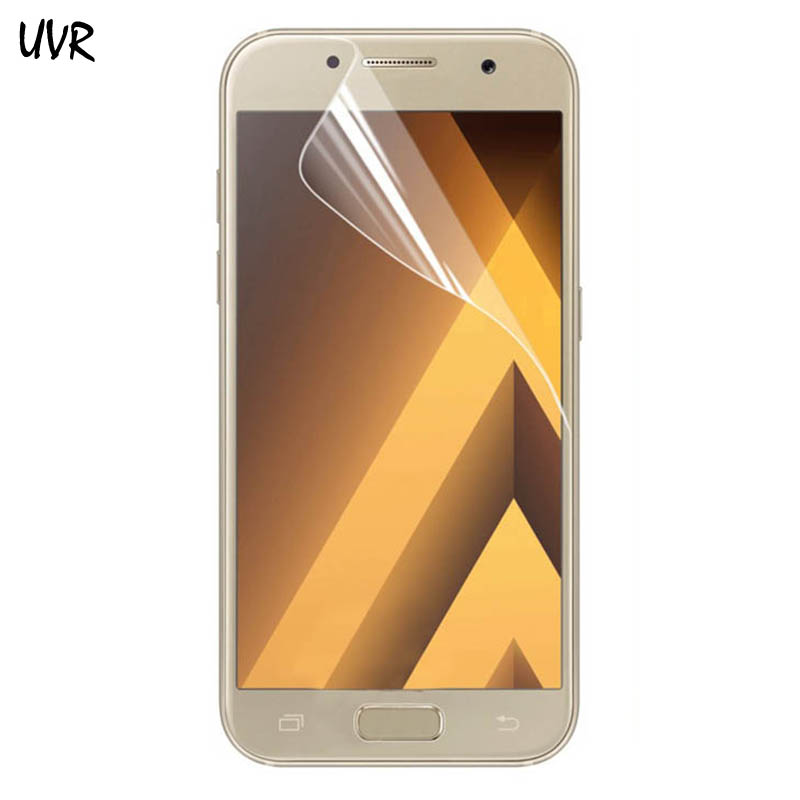 UVR 2PCS For A320 <font><b>A520</b></font> A720 3D Full Cover TPU Soft Film Screen Protector For <font><b>Samsung</b></font> Galaxy A3 A5 A7 2017 ( Not <font><b>Glass</b></font> ) image