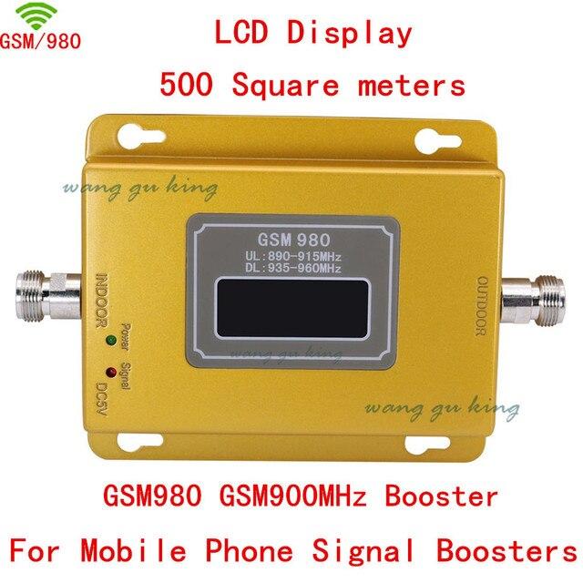 Высокое качество Горячей продажи GSM 980 17dbm мощность ЖК-дисплей телефон ракета-носитель репитера GSM повторителя booster, GSM усилитель сигнала gsm booster