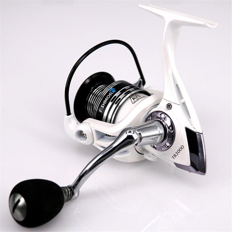 New Metal Spinning Wheels TR2000-6000 13 + 1BB Rockies Pole Fishing Lures Sea Fishing Reel