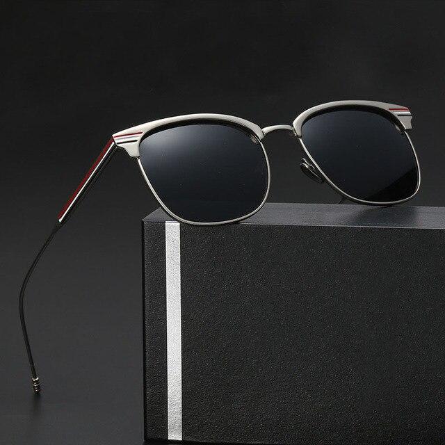 OFIR Nuevas gafas de Sol Polarizadas Hombres Mujeres Marea Personas Recubierto de Metal Retro Gafas de Sol de Diseño Clásico Gafas YF-76