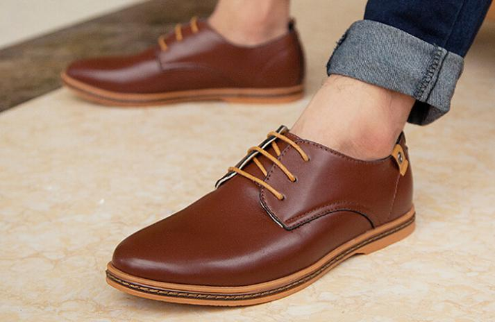 Men's Causal Flat Leather Loafers