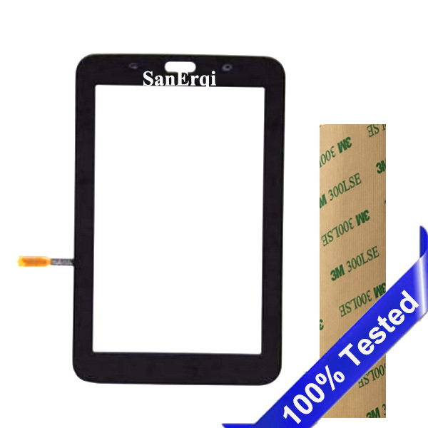 SanErqi Tested For Samsung Galaxy Tab 3 SM-T110 SM-T111 SM-T113 SM-T116 LCD Display Touch Screen T110 T111 T113 T116 Digitizer