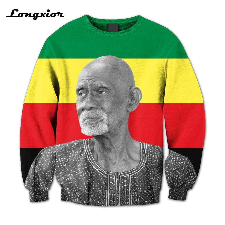 US $33 55 10% OFF Men women sweatshirt 3 Colors Real USA Size Dr  Sebi  3D  Sublimation print Sweatshirt Crew neck Custom made plus size M56-in Hoodies