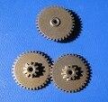 Double linked gear reduction gear  0.5M/0.6M - 10Teeths/36Teeths  Inner hole:2mm