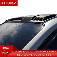 2019 Led Roof Light Raptor Style For Nissan Navara Frontier 2019 Roof light Accessories For Nissan navara NP300 2015 2019 YCSUNZ