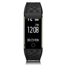 S2 inteligente muñequera pulsera smartband impermeable bluetooth banda de frecuencia cardíaca para el iphone xiaomi huawei android smart phone