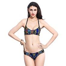 2016-New-Printed-Swimwear-Sports-Swimsuit-Women-Bikini-Sexy-High-Neck-Bikinis-Set-Crop-Bikini-Halter