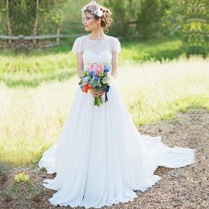 Compare Prices on Modest Wedding Dresses- Online Shopping/Buy Low ...