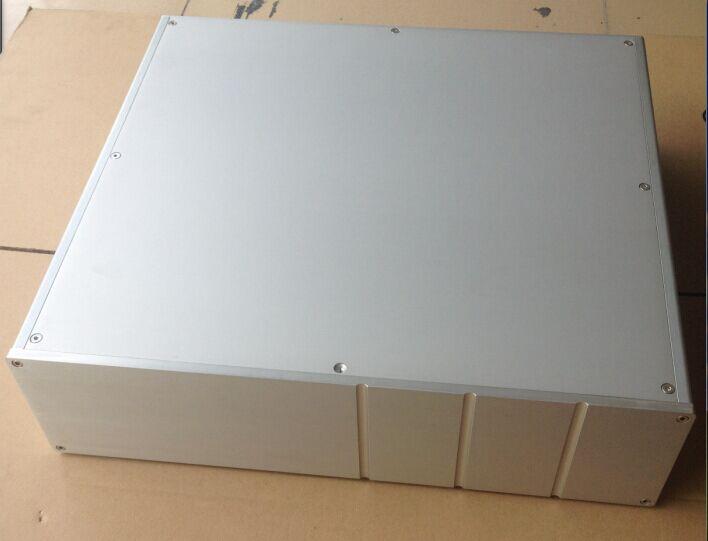 все цены на Sx-401 aluminum alloy type A tube amplifier chassis / AMP shell / case / DIY box (450 * 120 * 410mm) онлайн