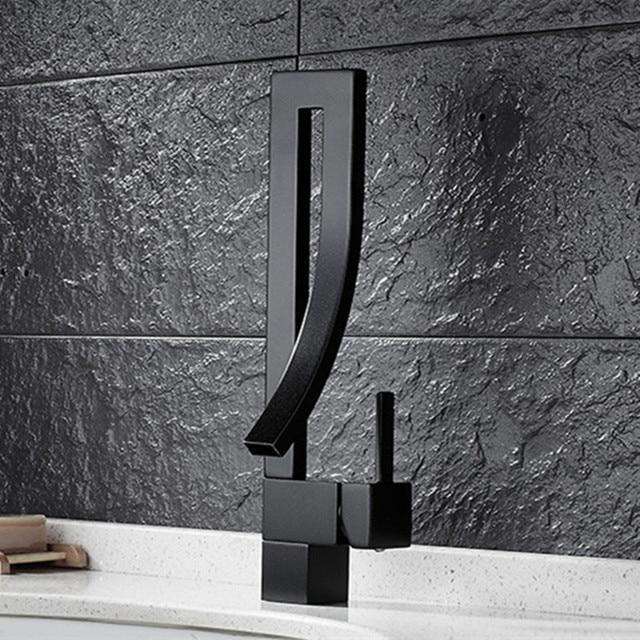 Freies Verschiffen Neue design massivem messing bronze küchenarmatur ...