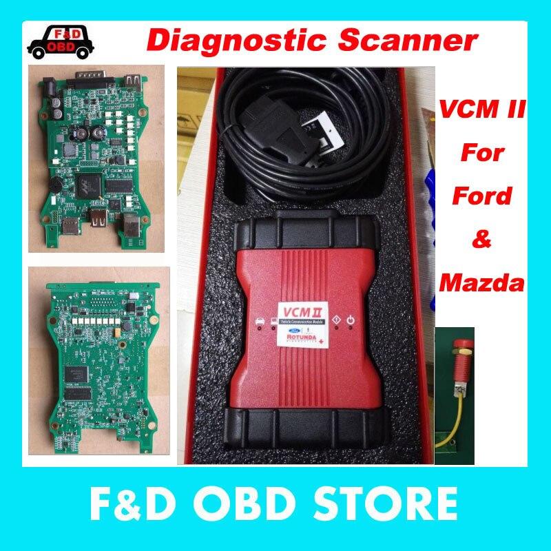 Цена за 2017 высокое качество VCM2 диагностический сканер для FORD VCM IDS II Поддержка 2016 ford транспортных средств IDS VCM 2 OBD2 сканер Бесплатная доставка