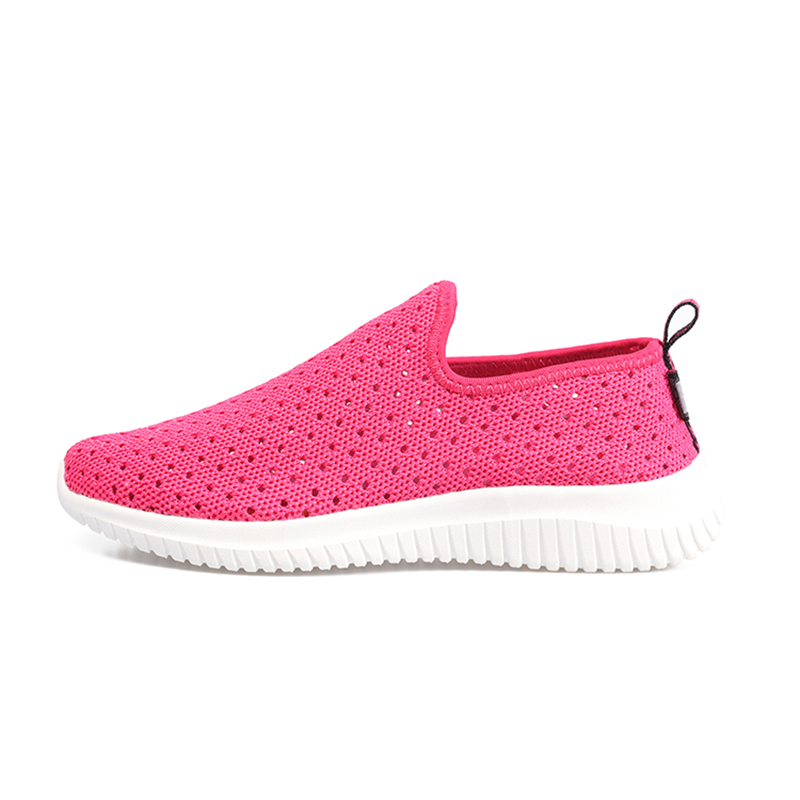Holey Vamp Breathable Knit Women Designer Sneakers Summer Head Designer Tennis Shoes For Women Beauty Shoes Gym Boots Stability