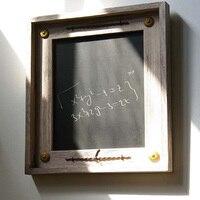 Holz Dekoration Tafel Klassische Taste Nachricht Schreibtafel Shop Büro Fotografie Werkzeuge Kinder Malerei Kollegium