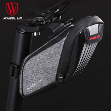 Wheel up New Arrival Waterproof Mountain Road Bicycle Tail Bag Saddle Bags Bike Pouch Mountain Road Reflective Cycling Seat Bag