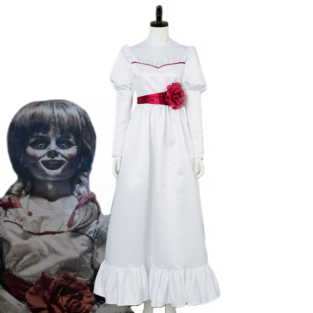 source aliexpress com buy annabelle cosplay terror costume women dress