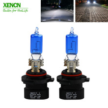 XENCN HB3A 9005XS 12V 60W 5300K Blue Diamond Light Xenon Look Car Bulbs Headlight Halogen Lamp for Jeep Cadillac Dodge Chrysler