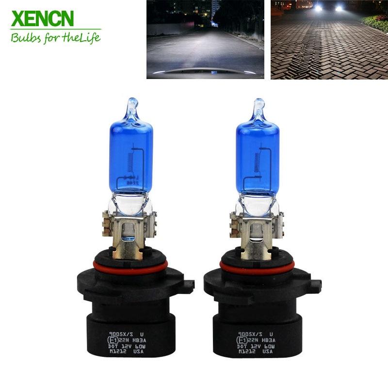 XENCN HB3A 9005XS 12V 60W 5300K Blue Diamond Light Xenon Look Car Bulbs Headlight Halogen Lamp for Jeep Cadillac Dodge Chrysler lole капри lsw1349 lively capris xs blue corn