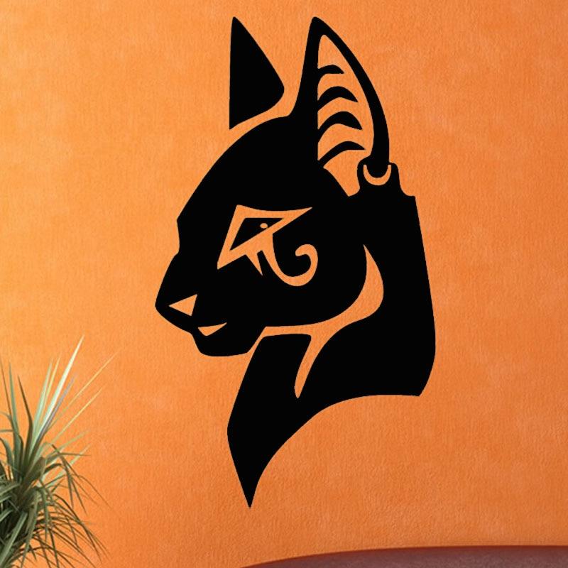 recin llegado de egipcio tatuajes de pared extrable vinilo del arte decoracin del hogar animal