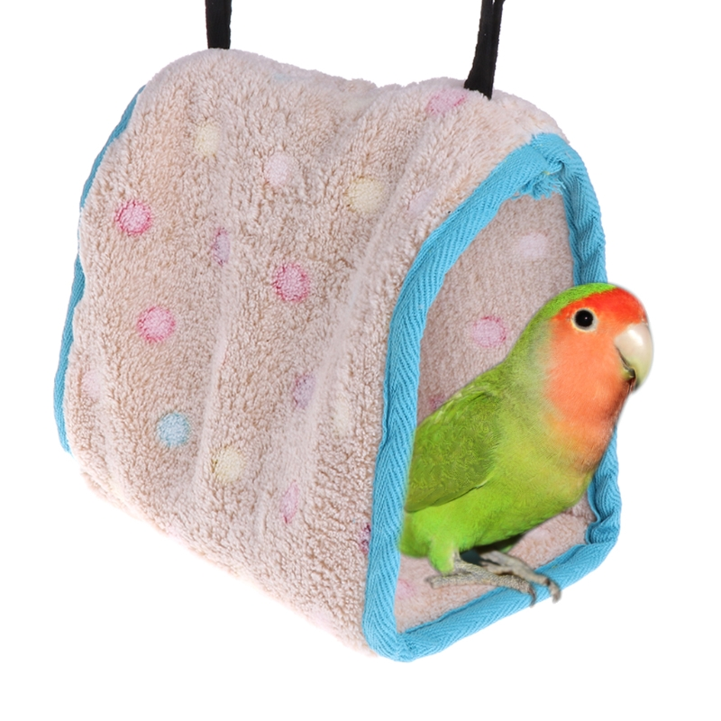 Winter Warm Birds Nest House Bird Warm Hut Cage For Parrot Macaw Parakeet Cockatiels Coc ...