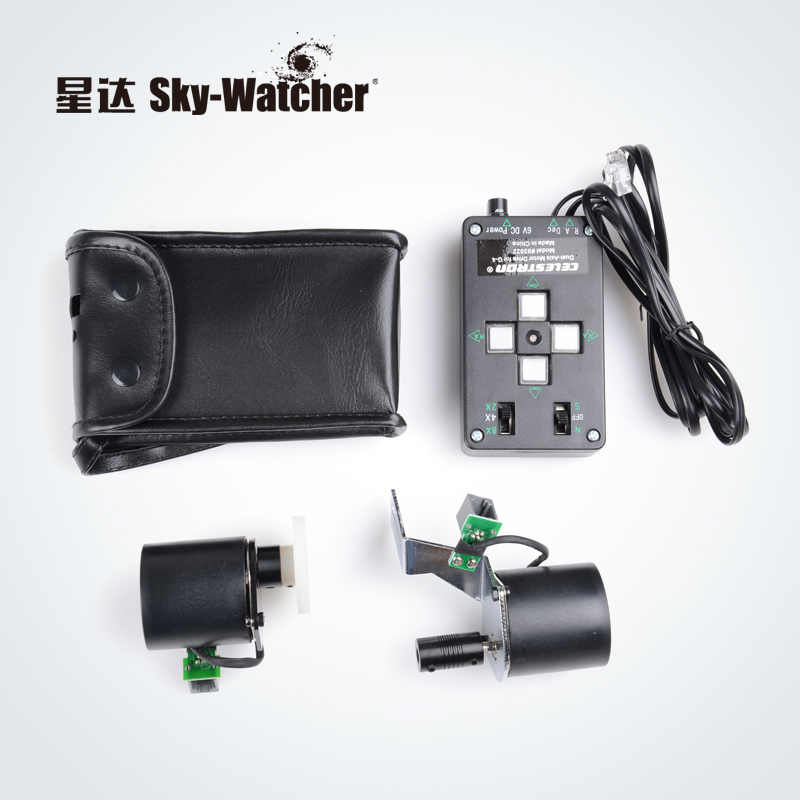 Astronomical Telescope biaxial Motor Drive for Skywatcher EQ3 Mounts Telescope Astromaster Equatorial