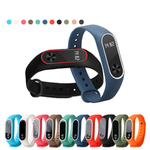 Smart bracelet millet Mi Band 2 sport silicone color strap for xiaomi mi band 2 replacement wristbands for Mi band 2 Smart Band