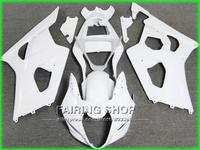 Литья под давлением Лидер продаж комплект обтекателей для Suzuki GSXR1000 03 04 K3 белый обтекатели комплект GSXR 1000 2003 2004 K4 yi115