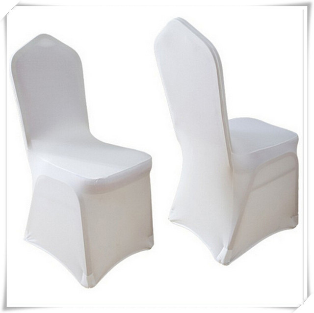 Fitted Chair Covers For Cheap Stool With Cushion Aliexpress Com Buy Factory Wholesale Luxury Fancy Universal White Polyester Spandex Banquet Cover Free Shipping 100pcs