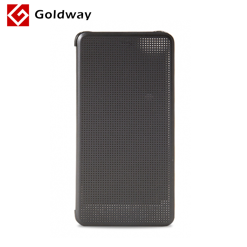 Original Xiaomi Mi 5S Mi5s PC + PU Leather Case Flip Dot Matrix Smart Display Cover Wake UP 1Pcs