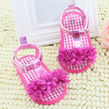 Kids Baby Girl Floral Summer Fashion Breathable Crib Soft Sole Non-slip Princess Frist Walkers Shoes