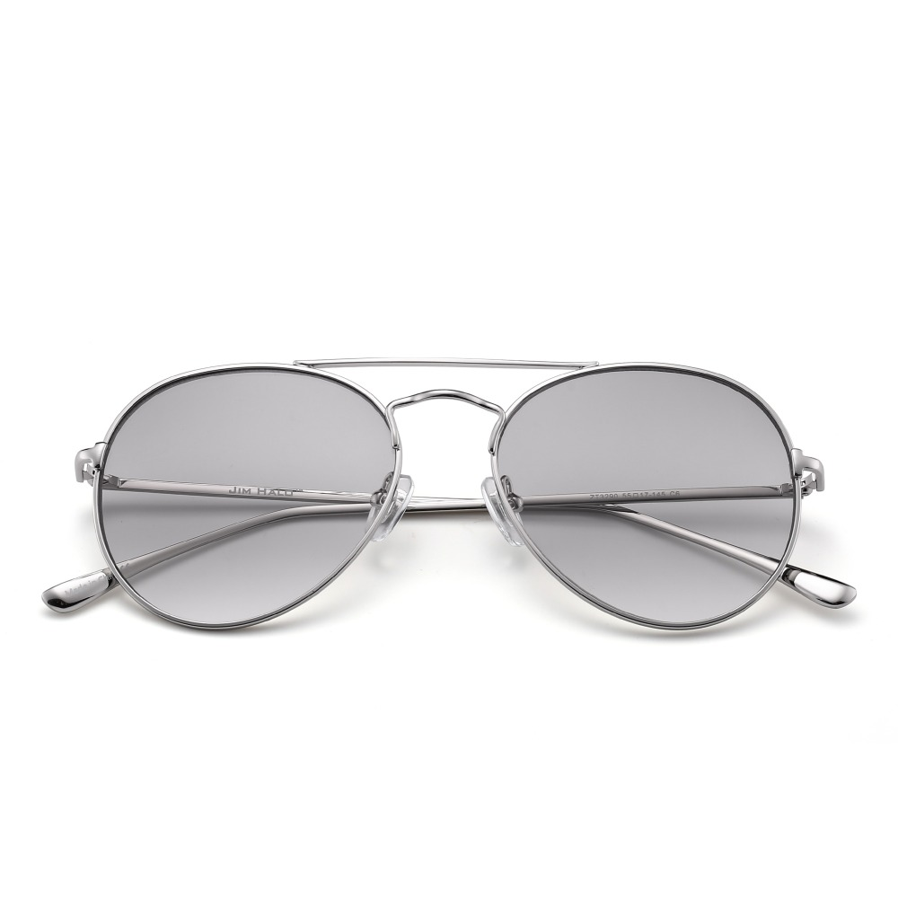 687350417161 JM Retro Clear Classic Flat Tinted Lens Driving Sunglasses Women Men UV400  Metal Frame Cheap Vintage Sun Glasses-in Sunglasses from Apparel  Accessories on ...