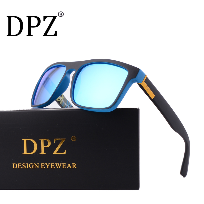 DPZ Luxury Brand Designer Polarized Sunglasses Men's women Driving Shades Male Sun Glasses For Men Retro 2018 Oculos