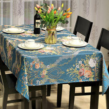 European style tablecloths living room coffee table cloth home rectangular restaurant