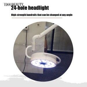 Image 2 - TDOUBEAUTY 72 วัตต์ความสว่างเพดาน LED ผ่าตัดสอบ Light Shadowless โคมไฟสัตว์เลี้ยงผ่าตัดแผนกทันตกรรม (90 V  240 V) 800 มม.