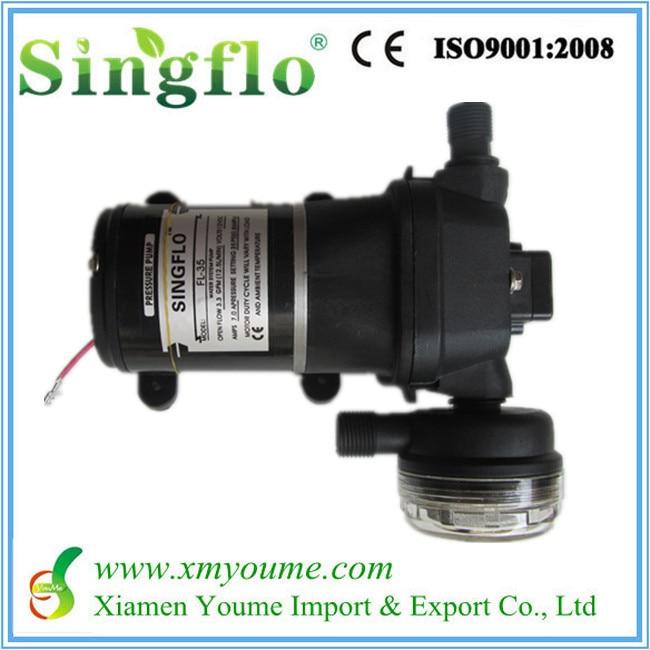 Car wash pump 12V DC high flow