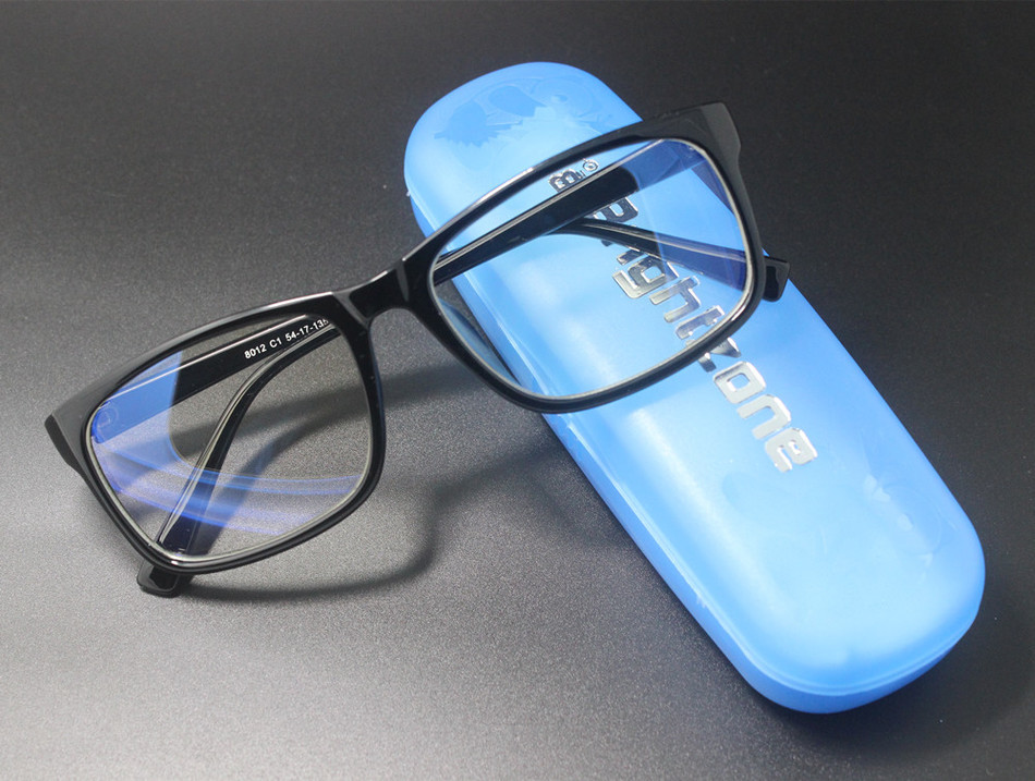 Brightzone anti-raios azuis anti-eyestrain claro desempenho digital óculos de jogo trabalhar mais rápido ver mais nítido viver melhor