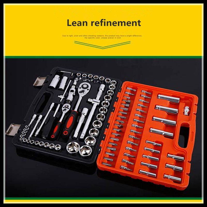Ratchet wrench set chrome vanadium steel 94 auto repair kit kit maintenance tools combination tools chrome vanadium steel ratchet combination spanner wrench 19mm