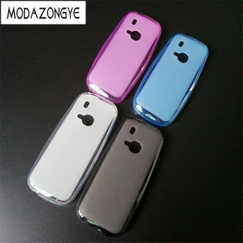 Nokia 3310 Case 2017 Matte TPU Back Cover Case For Nokia 3310 / Nokia 3310 Dual SIM Case Silicone Soft Phone Protective Cover
