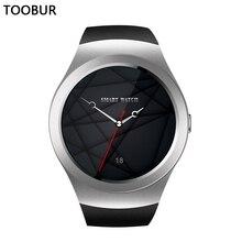 Toobur Voll Runden Bildschirm Smartwatch Telefon, Unterstützung sim-karte und Micr-SD Card Slot, leben Wasserdicht Smart Uhr für Android IOS