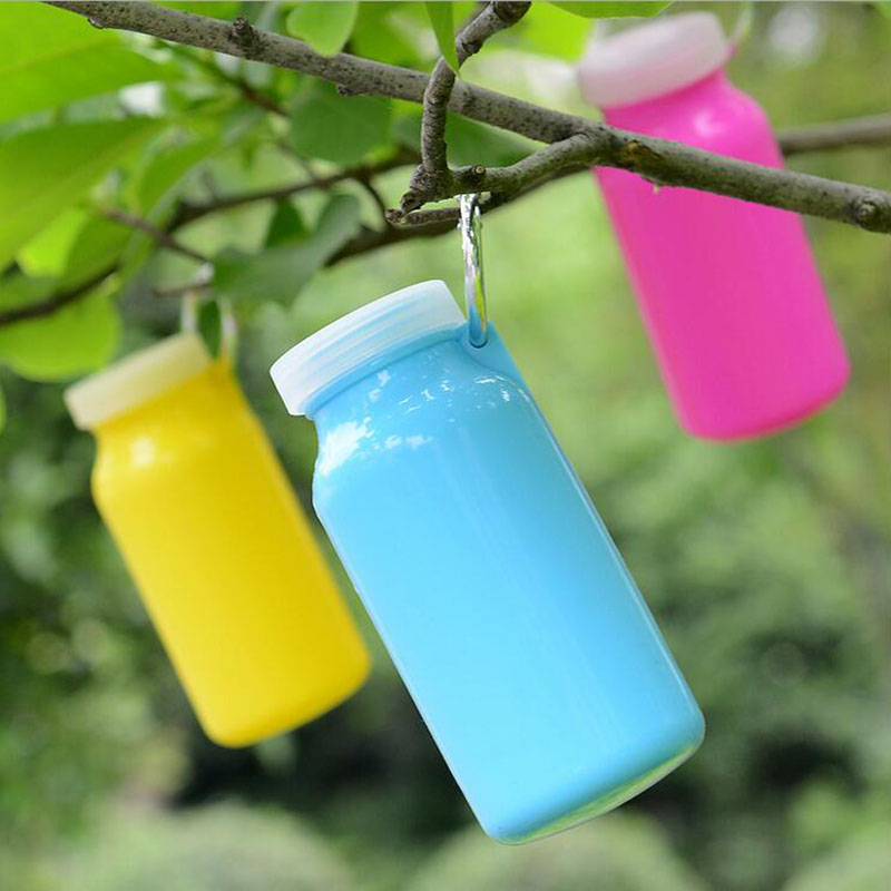 New Arrival Portable Foldable Leakproof Water Bottle Kettle Cup Outdoor Sport Camping Silicone Folding Gym Bicycle Water Bottle