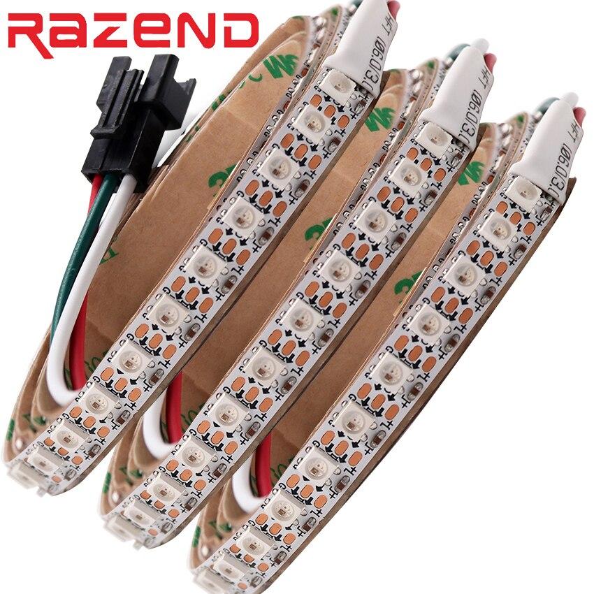 144 LEDs/m 8mm PC-60 LEDs/m 4mm PC Adressierbaren led-pixel streifen licht DC5V SK6812 MINI 3535 RGB wasserdichte IP67/IP21 als WS2812B