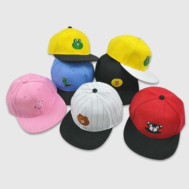 ae8625e5ec5 Bbk kinderen voorzien hoed casual cap bruine beer edge golf cap voor jongens  baseball meisje hoed