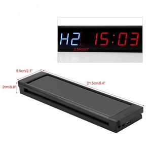 Image 5 - Programmable Training Timer LED Display Interval Timer Wall Clock with Remote for Gym Fitness Training 5V